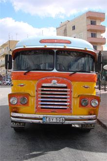 Linienbus Malta