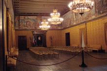 Grandmasters Palace Throne Room Malta Valletta