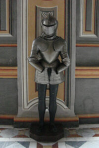 Ritter Harnisch Malta Großmeisterpalast Korridor